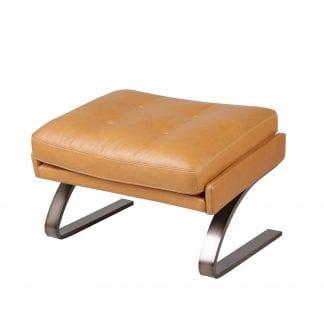 Barstol gjord ut av återvunnet trä med metallram   Handla